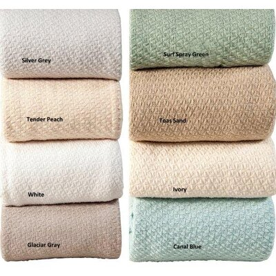 Luxury Super Soft Cotton Blanket by Intrade Global