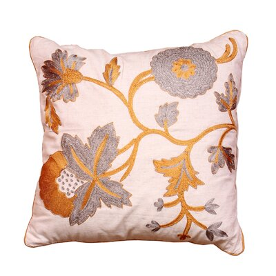 Cabana Living Vine Linen Throw Pillow