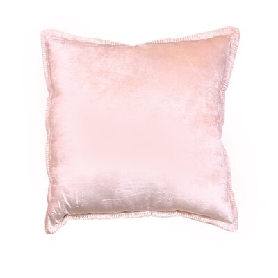 Cabana Velvet Throw Pillow Color: Dark Beige