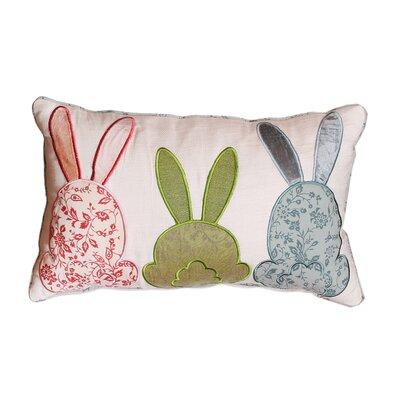 Cabana Bunny Love Pillow Cover