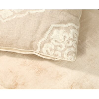 Cabana Medallion Linen Pillow Cover