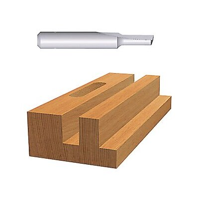 "Bosch Tools HSS Plunge Cutting Straight Router Bits - 5/32"" hss straight bit 1-flute at Sears.com"