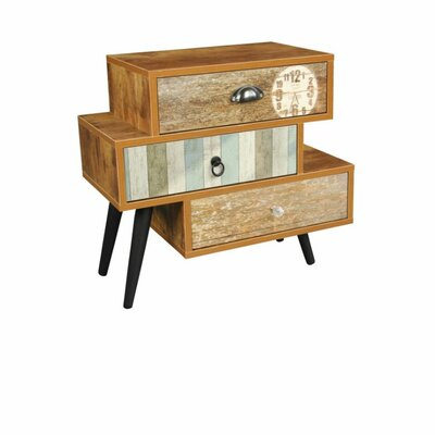Mixen End Table With Storage