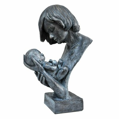 Woman Holding Baby in Loving Hands Bust C211-123074