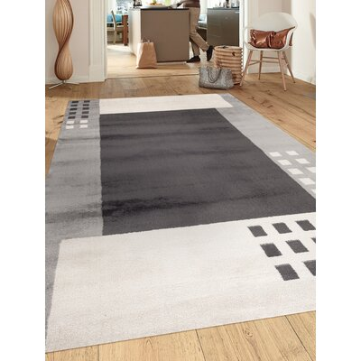 Toscana Gray Area Rug Rug Size: Rectangle 2 x 3