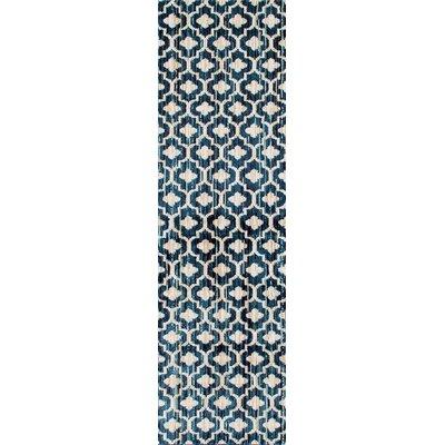 Loft Blue Area Rug Rug Size: Runner 2 x 72