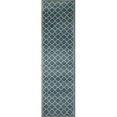 Waconia Blue Area Rug Rug Size: Runner 2 x 72