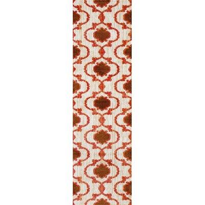 Loft Orange Area Rug Rug Size: Runner 2 x 72