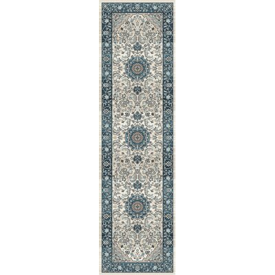 Elite Blue Area Rug Rug Size: Runner 2 x 72