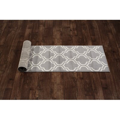 Freeman Gray Area Rug Rug Size: Runner 2 x 72