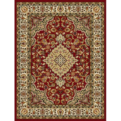 Newport Red Area Rug Rug Size: Runner 2 x 72