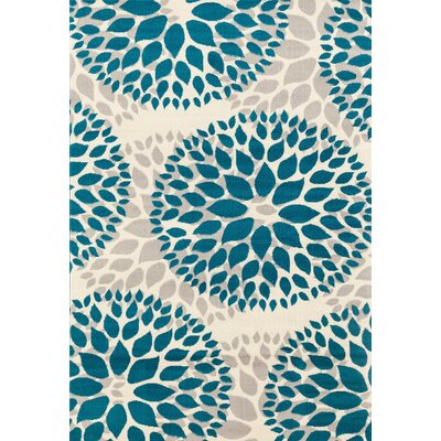 Wallner Blue Area Rug Rug Size: 5' x 7'