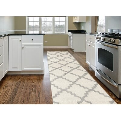 Newport Cream Area Rug Rug Size: Runner 2 x 72