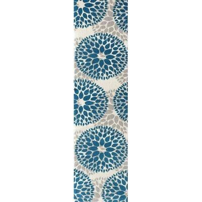 Wallner Blue Area Rug Rug Size: Runner 2 x 72