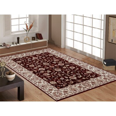 Panache Red Area Rug Rug Size: 33 x 5