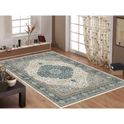 Main Street Blue Area Rug