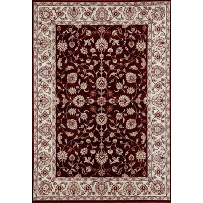 Panache Red Area Rug Rug Size: 2 x 3