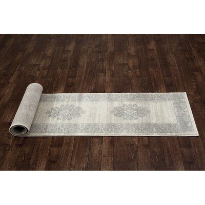 Avalon Gray Area Rug Rug Size: Runner 2 x 72