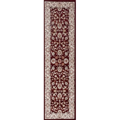 Panache Red Area Rug Rug Size: Runner 2 x 72