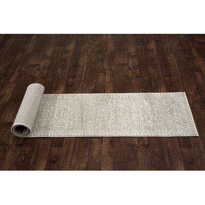 Avalon Gray Area Rug Rug Size: 7'6