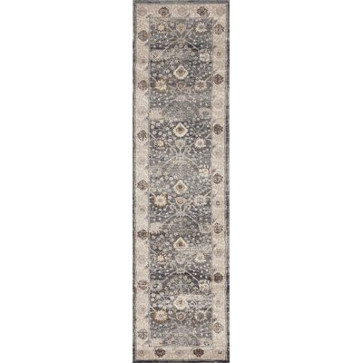 Panache Gray Area Rug Rug Size: Runner 2 x 72
