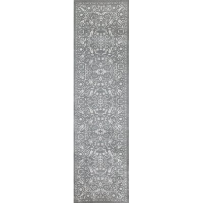 Avalon Gray Area Rug Rug Size: 33 x 5