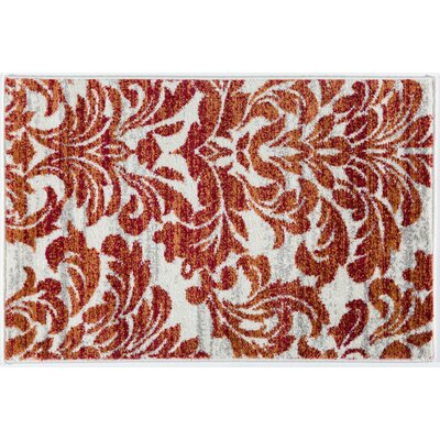 Bonfield Modern Soft Red Area Rug Rug Size: Rectangle 2 x 3