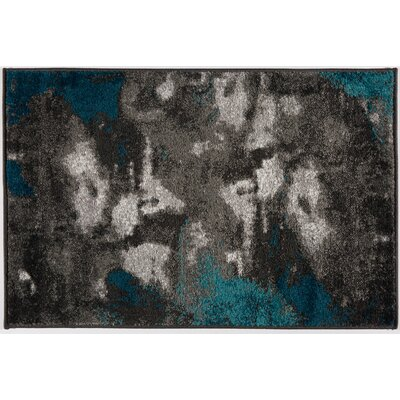 Shalah Distressed Modern Soft Gray Area Rug Rug Size: Rectangle 2 x 3