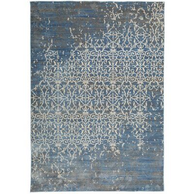 Nahlia Blue Area Rug Rug Size: Rectangle 4 x 6