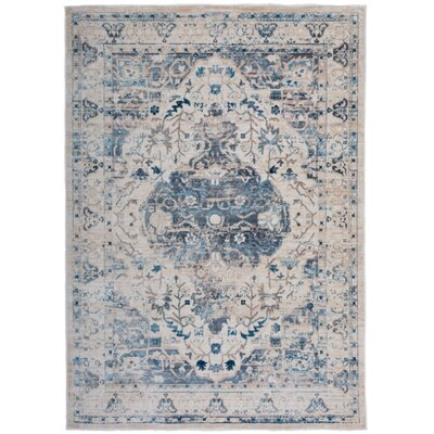 Myah Beige Area Rug Rug Size: Rectangle 4 x 6