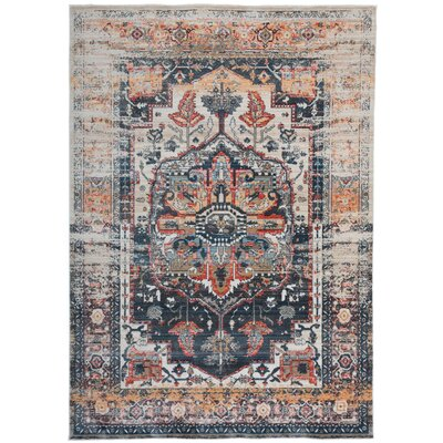 Aranda Gray Area Rug Rug Size: Rectangle 4 x 6