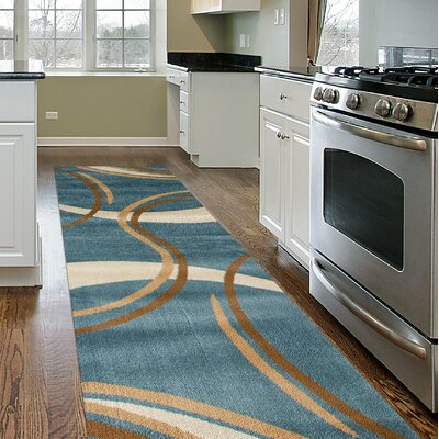 Penny Blue Area Rug Rug Size: Runner 2 x 72