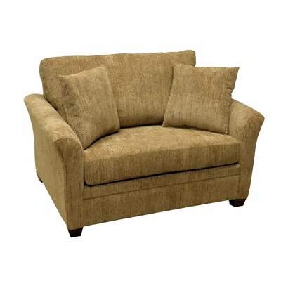 733-307 (Civic Khaki) LR1797 LaCrosse Furniture Emporia Sleeper Loveseat with 7″ Mattress