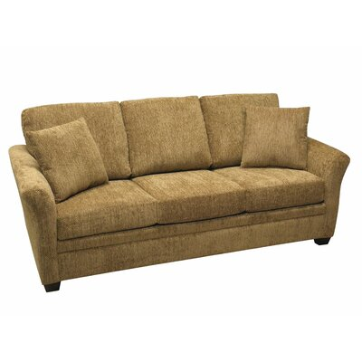733-605M (Civic Khaki) LR1772 LaCrosse Furniture Emporia Sleeper Sofa with 5″ Memory Foam Mattress