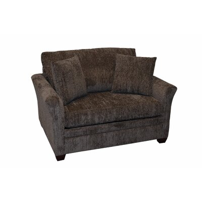 733-305M (Civic Loden) LR1802 LaCrosse Furniture Emporia Sleeper Loveseat with 5″ Memory Foam Mattress