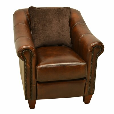 Union Leather Club Chair