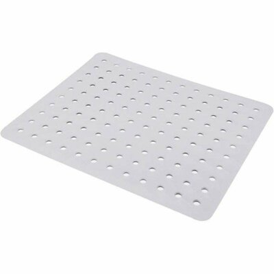 Coza Strong Durable Sink Mat Finish: White