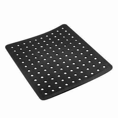 Coza Strong Durable Sink Mat Finish: Black