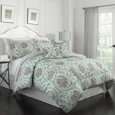 Happy Festival 7 Piece Comforter Set Size: Queen