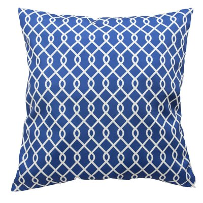 Ellis Decorative Throw Pillow Color: Indigo