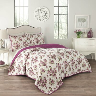Primrose 3 Piece Quilt Set Size: King