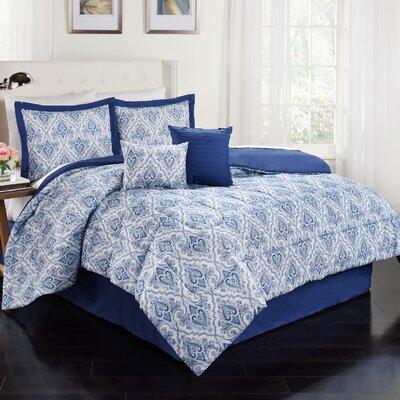 Anatalya 6 Piece Comforter Set Size: Queen, Color: Aegean