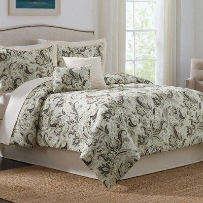 Rustic Retreat 7 Piece Comforter Set Size: Queen