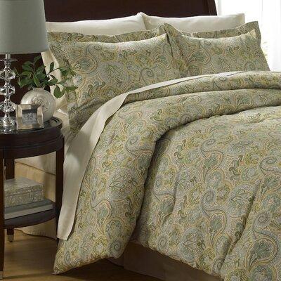 Paddock Shawl 6 Piece Comforter Set Size: King