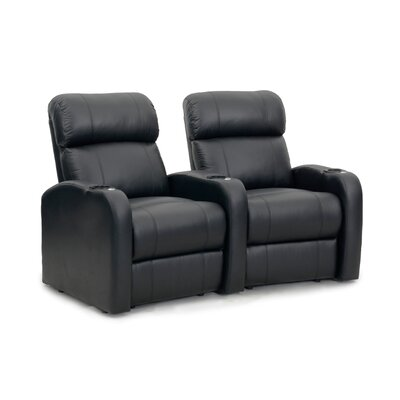 Diesel XS950 Home Theater Recliner (Row of 2) Upholstery: Black, Type: Manual