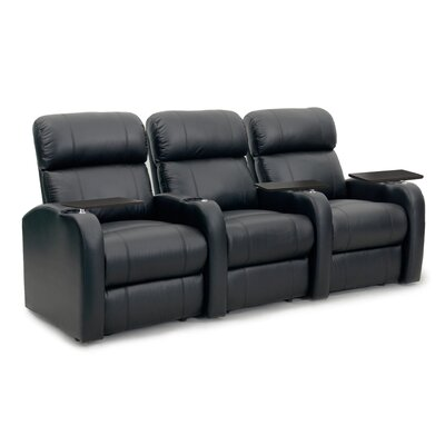 Diesel XS950 Home Theater Recliner (Row of 3) Upholstery: Black, Type: Manual