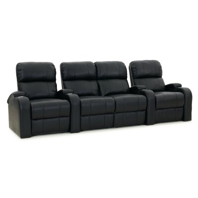 Edge XL800 Home Theater Loveseat (Row of 4) Color: Black, Type: Manual