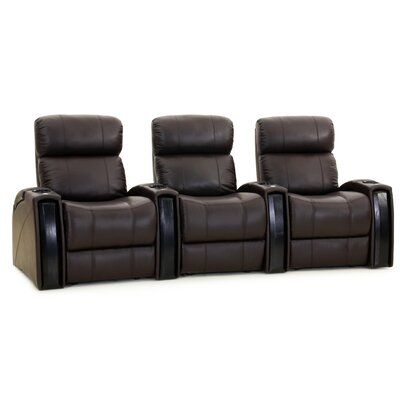 Nitro XL750 Home Theatre Lounger (Row of 3) Color: Brown