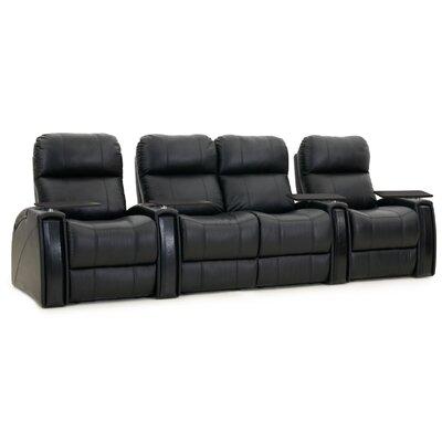 Nitro XL750 Home Theatre Loveseat (Row of 4) Color: Black