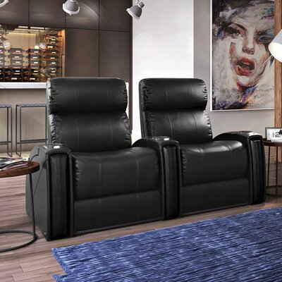 Nitro XL750 Home Theatre Lounger (Row of 2) Color: Black